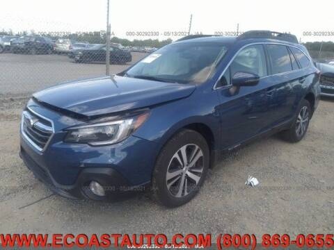 2019 Subaru Outback for sale at East Coast Auto Source Inc. in Bedford VA