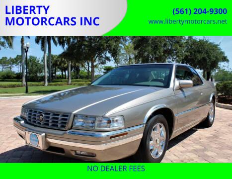 2001 Cadillac Eldorado for sale at LIBERTY MOTORCARS INC in Royal Palm Beach FL