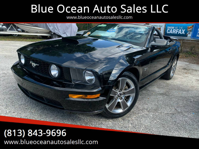 2008 Ford Mustang for sale at Blue Ocean Auto Sales LLC in Tampa FL