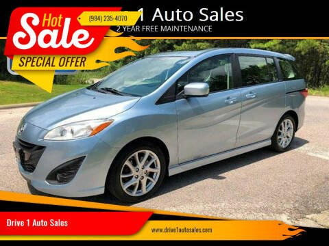 2012 Mazda MAZDA5 for sale at Drive 1 Auto Sales in Wake Forest NC