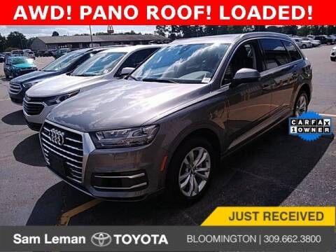 2018 Audi Q7 for sale at Sam Leman Toyota Bloomington in Bloomington IL