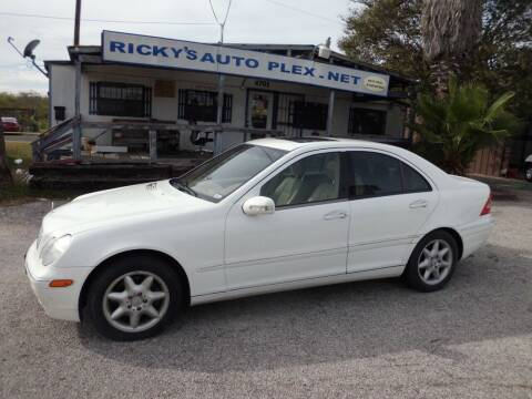 2002 Mercedes-Benz C-Class for sale at RICKY'S AUTOPLEX in San Antonio TX