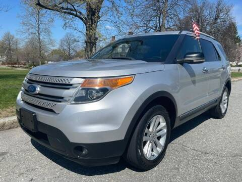 2011 Ford Explorer for sale at NEW ENGLAND AUTO MALL in Lowell MA