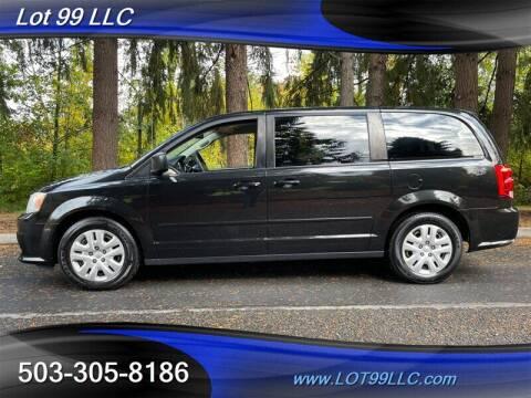 2016 Dodge Grand Caravan for sale at LOT 99 LLC in Milwaukie OR