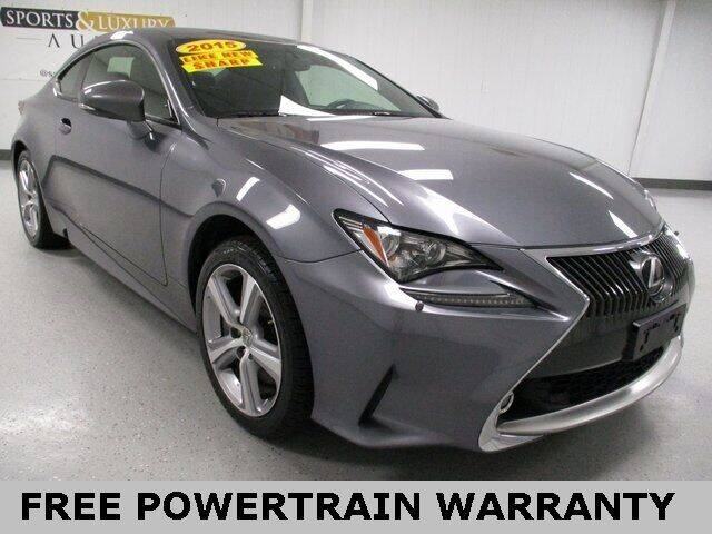 2015 Lexus RC 350 for sale at Sports & Luxury Auto in Blue Springs MO