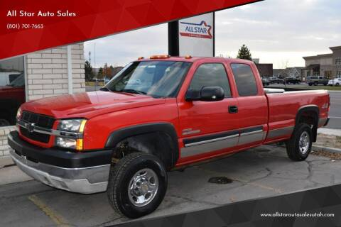 2003 Chevrolet Silverado 2500HD for sale at All Star Auto Sales in Pleasant Grove UT