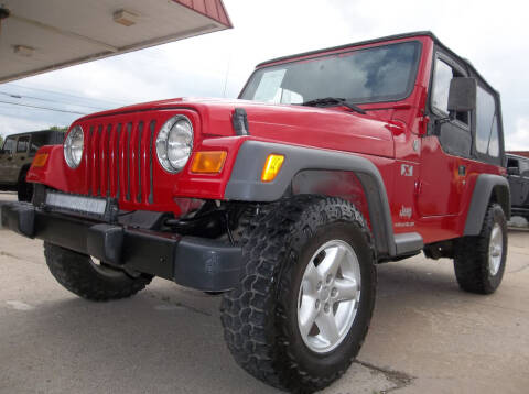 2005 Jeep Wrangler for sale at Broken Arrow Motor Co in Broken Arrow OK