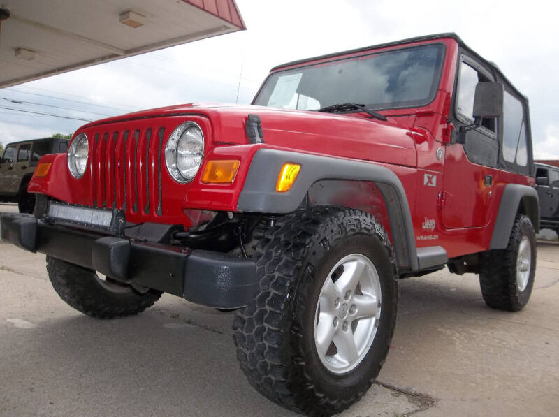 2005 Jeep Wrangler for sale at Broken Arrow Motor Co in Broken Arrow OK