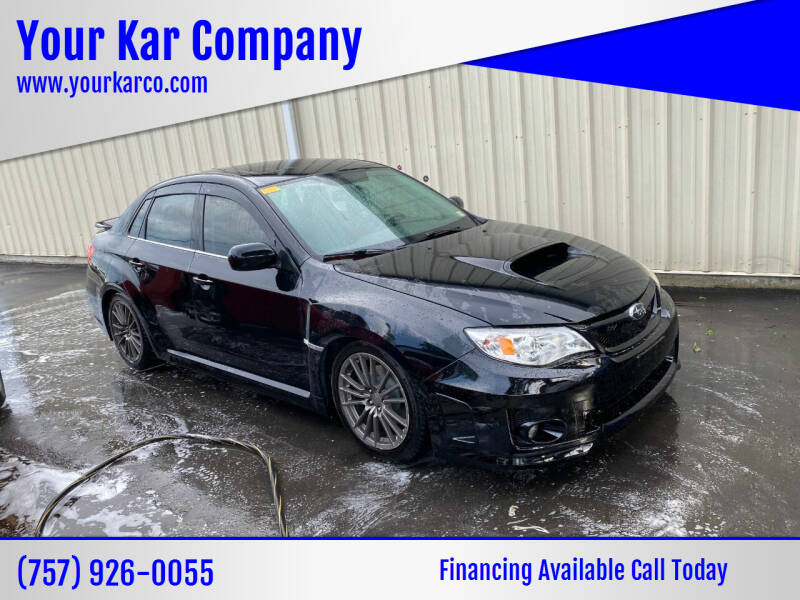 2012 Subaru Impreza for sale at Your Kar Company in Norfolk VA