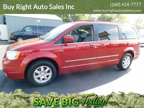 2010 Chrysler Town and Country for sale at Buy Right Auto Sales Inc in Fort Wayne IN