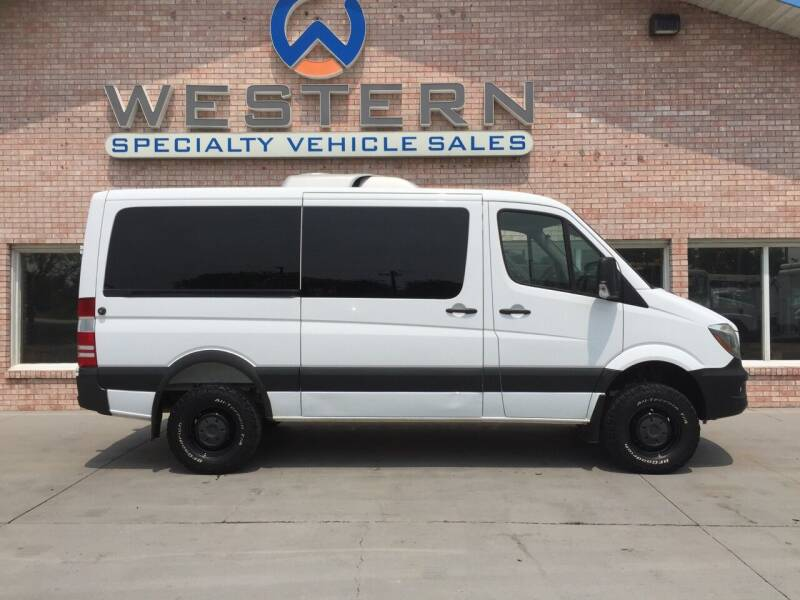 2017 Mercedes-Benz 4x4 Passenger Van RV Camper for sale at Western Specialty Vehicle Sales in Braidwood IL