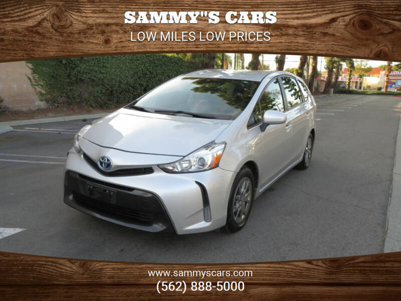 "2015 Toyota Prius v for sale at SAMMY""S CARS in Bellflower CA"