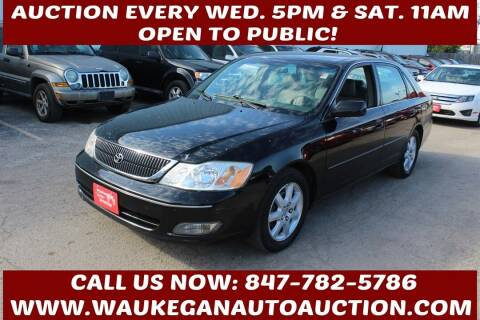 2000 Toyota Avalon for sale at Waukegan Auto Auction in Waukegan IL