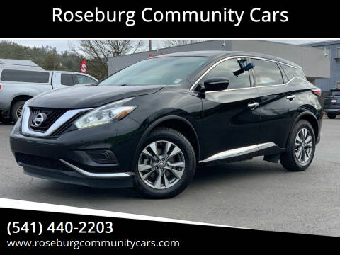 2015 Nissan Murano for sale at Roseburg Community Cars in Roseburg OR