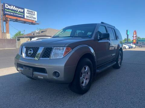 2007 Nissan Pathfinder for sale at Boise Motorz in Boise ID