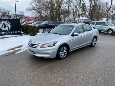 2011 Honda Accord for sale at Station 45 Auto Sales Inc in Allendale MI