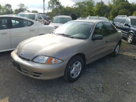 2000 Chevrolet Cavalier for sale at John - Glenn Auto Sales INC in Plain City OH