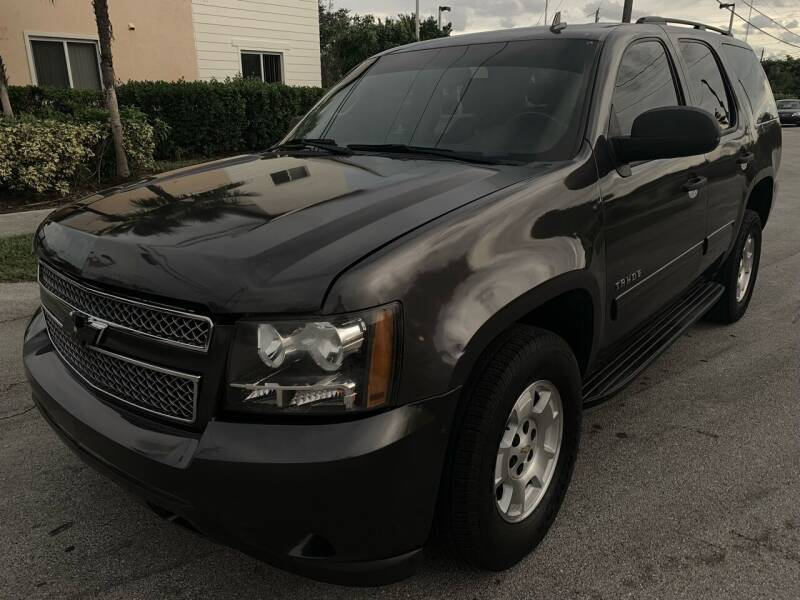 2010 Chevrolet Tahoe for sale at Eden Cars Inc in Hollywood FL