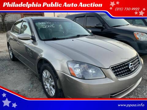 2006 Nissan Altima for sale at Philadelphia Public Auto Auction in Philadelphia PA