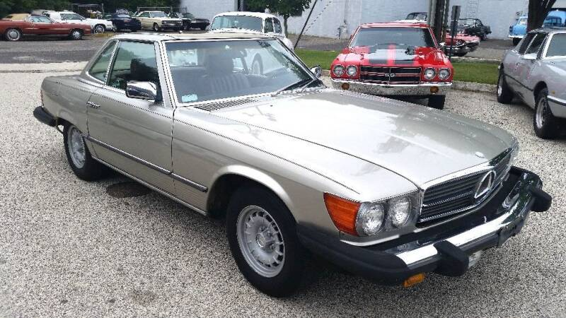 1985 Mercedes-Benz 380-Class for sale at Black Tie Classics in Stratford NJ
