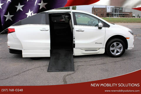 2019 Honda Odyssey for sale at New Mobility Solutions in Jackson MI
