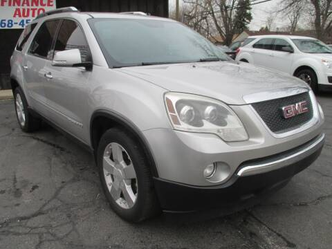 2008 GMC Acadia for sale at EZ Finance Auto in Calumet City IL