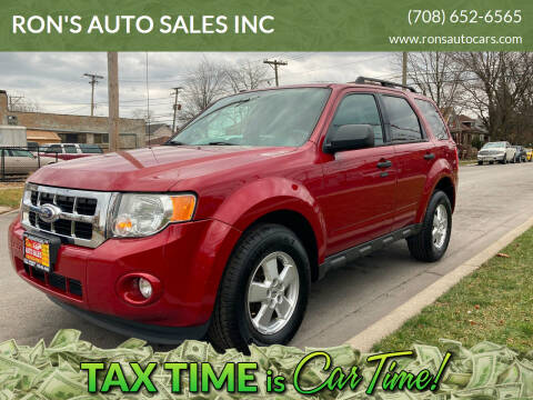 2011 Ford Escape for sale at RON'S AUTO SALES INC in Cicero IL