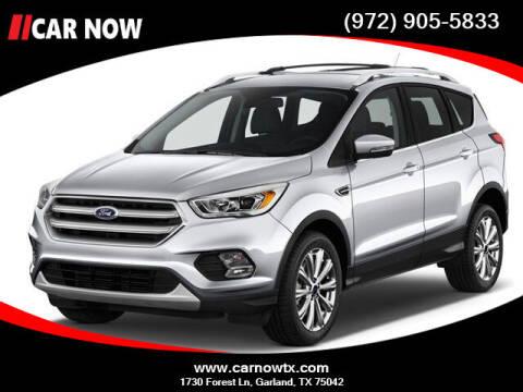 2017 Ford Escape for sale at Car Now Dallas in Dallas TX
