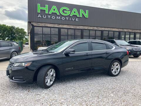 2015 Chevrolet Impala for sale at Hagan Automotive in Chatham IL