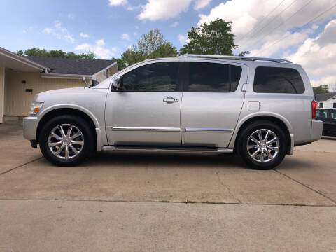 2008 Infiniti QX56 for sale at H3 Auto Group in Huntsville TX