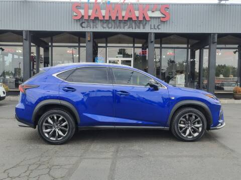 2018 Lexus NX 300 for sale at Siamak's Car Company llc in Salem OR