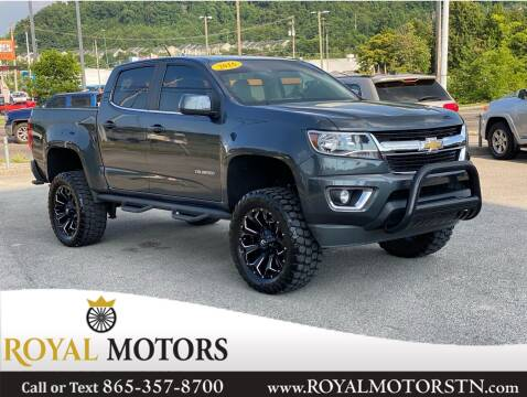 2016 Chevrolet Colorado for sale at ROYAL MOTORS LLC in Knoxville TN