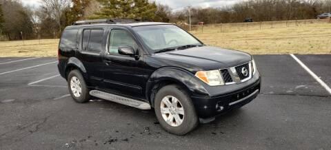 2006 Nissan Pathfinder for sale at 369 Auto Sales LLC in Murfreesboro TN