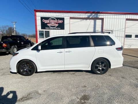 2016 Toyota Sienna for sale at Casey Classic Cars in Casey IL