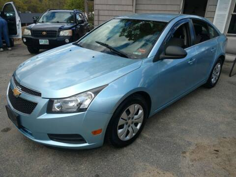 2012 Chevrolet Cruze for sale at Auto Brokers of Milford in Milford NH