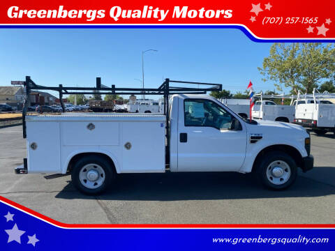 2008 Ford F-250 Super Duty for sale at Greenbergs Quality Motors in Napa CA