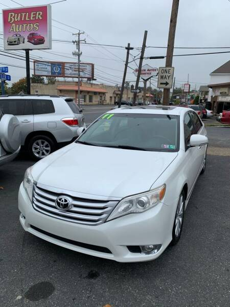 2011 Toyota Avalon for sale at Butler Auto in Easton PA