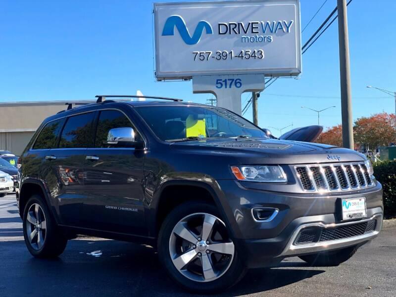 2014 Jeep Grand Cherokee for sale at Driveway Motors in Virginia Beach VA