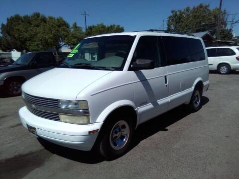 2001 Chevrolet Astro for sale at Larry's Auto Sales Inc. in Fresno CA