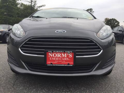 2015 Ford Fiesta for sale at NORM'S USED CARS INC in Wiscasset ME