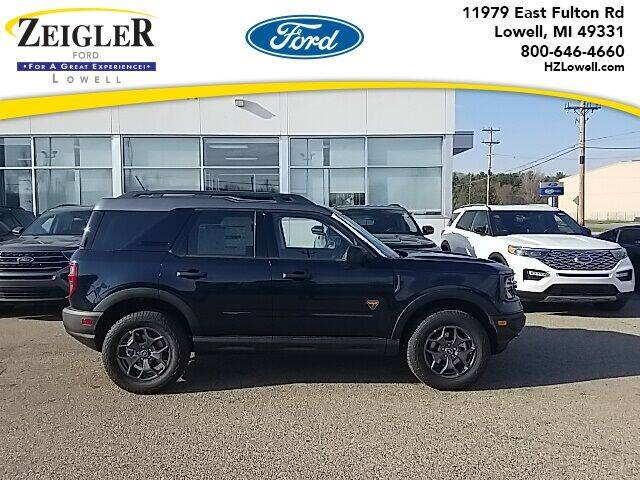 2021 Ford Bronco Sport for sale at Zeigler Ford of Plainwell- Jeff Bishop in Plainwell MI