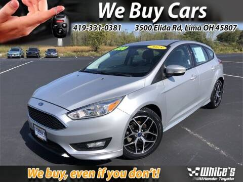 2015 Ford Focus for sale at White's Honda Toyota of Lima in Lima OH