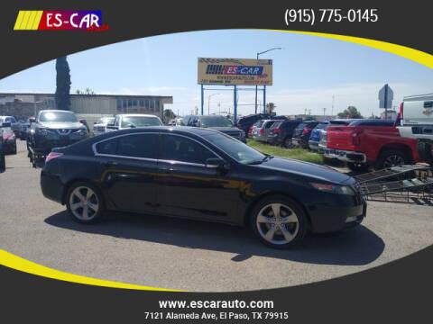 2013 Acura TL for sale at Escar Auto in El Paso TX