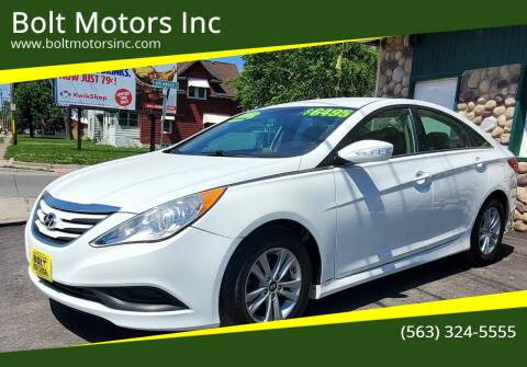 2014 Hyundai Sonata for sale at Bolt Motors Inc in Davenport IA