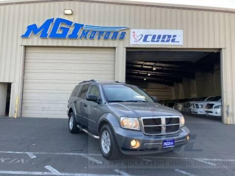 2007 Dodge Durango for sale at MGI Motors in Sacramento CA