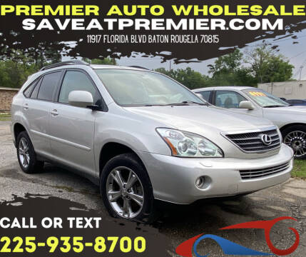 2006 Lexus RX 400h for sale at Premier Auto Wholesale in Baton Rouge LA