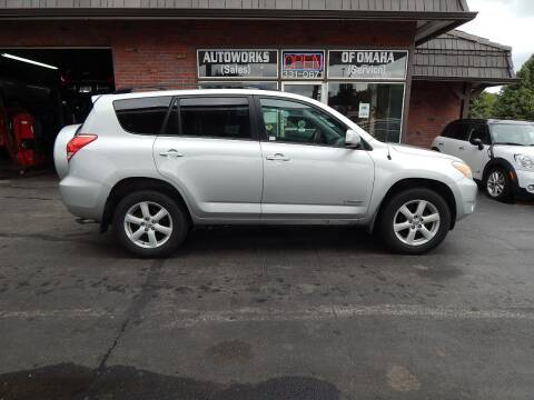 2008 Toyota RAV4 for sale at AUTOWORKS OF OMAHA INC in Omaha NE