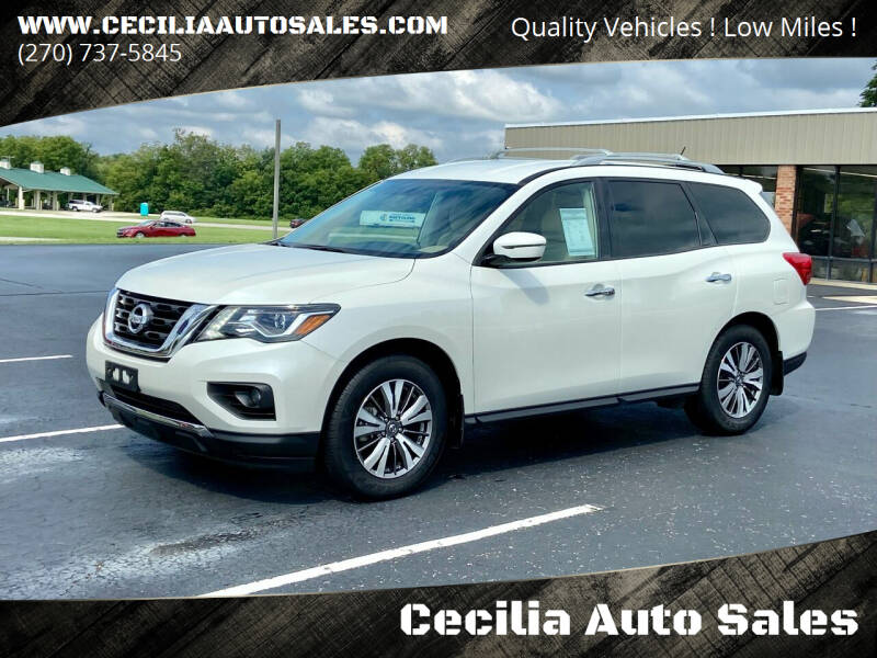 2017 Nissan Pathfinder for sale at Cecilia Auto Sales in Elizabethtown KY