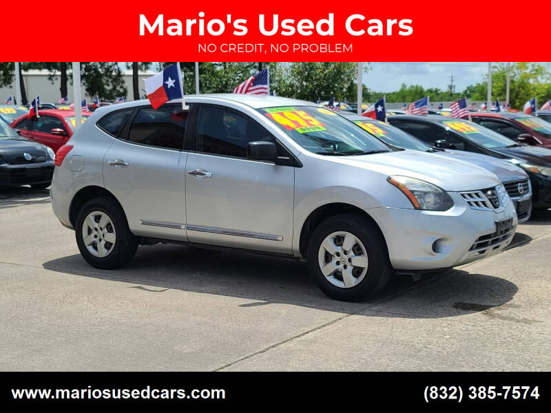 2014 Nissan Rogue Select for sale at Mario's Used Cars in Houston TX