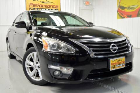 2015 Nissan Altima for sale at Performance car sales in Joliet IL